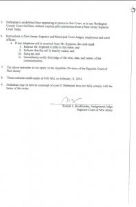 Court Order - Bookbinder Unlawful pg2