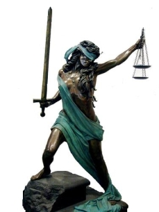 Lady Justice Soldier